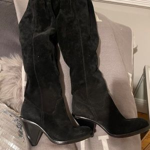 Like new Michael Kors suede boot over the knee.